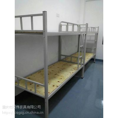 遵义钢制铁床 双层 架子床 工地铁床 厂家直销