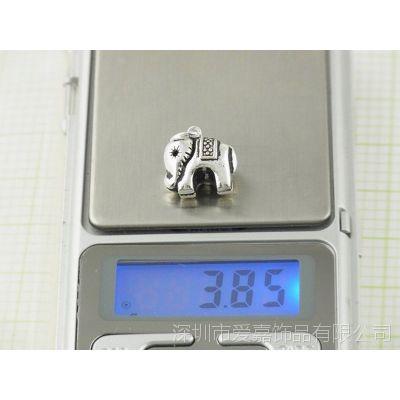 S925银弯管配件批发 金属首饰配件—粉晶首饰定做厂家