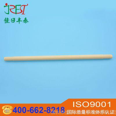 99氧化铝陶瓷棒 耐高温氧化锆陶瓷螺纹棒 耐磨双头螺纹陶瓷管