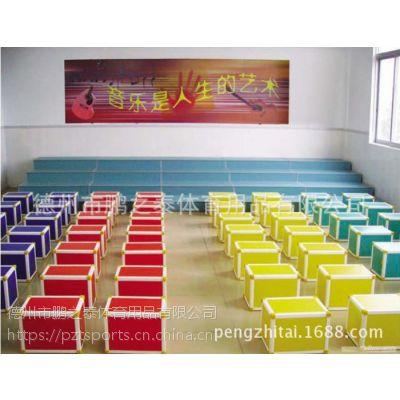 多功能六面体音乐凳 大中小彩色六面体凳
