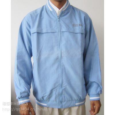 供应东莞塘厦丰采制衣厂家直销新款高档修身次加厚棒球服男女卫衣工作服