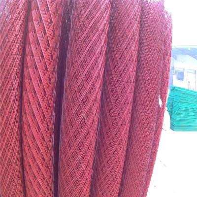 建筑钢笆网片规格 脚手架钢笆网片 钢板网生产