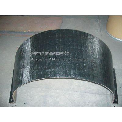 济宁国龙8+8双金属耐磨衬板 龙门焊耐磨堆焊复合钢板
