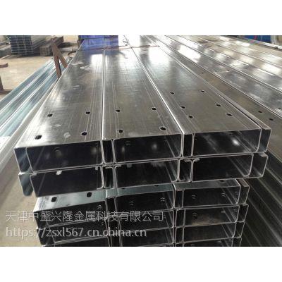天津冷弯C型槽钢加工厂,C型钢加工,加工太阳光伏支架