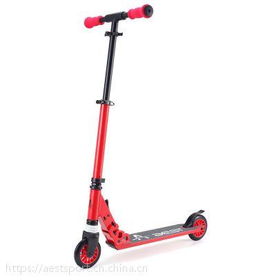 5寸可定制铝合金脚踏折叠滑板车平衡车代步车时尚成人儿童款A550