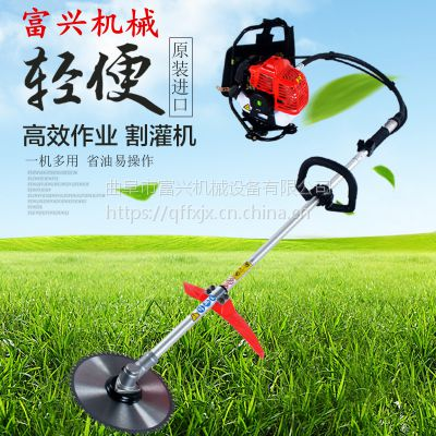 富兴小型背负式打草机 背负汽油式锄草机厂家直销 旋耕机