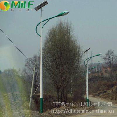 农村4米5米宽道路用几米太阳能路灯