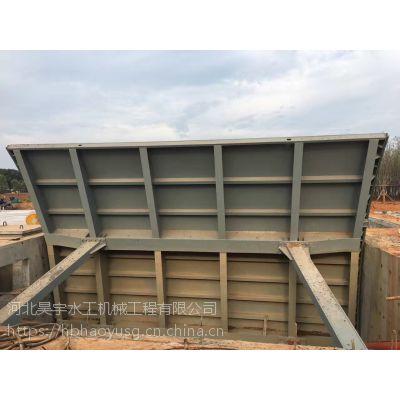 河北省昊宇水工露顶式弧形闸门按规格定制价格合理欢迎选购