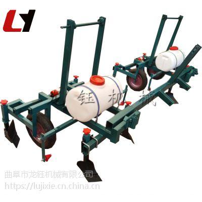 铺膜机 拖拉机牵引式起垄地膜覆膜机