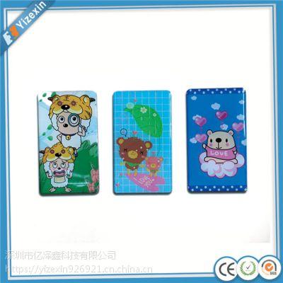 深圳亿泽鑫专业生产水晶冰箱贴,亚克力冰箱贴,UV印刷