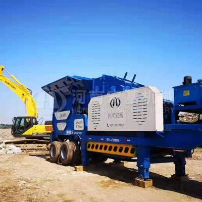 车载式花岗岩移动碎石机配置和选型,大概多少钱