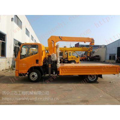 浙江宁波改装吊车厂家地址3.2吨可以上蓝牌的随车吊价格