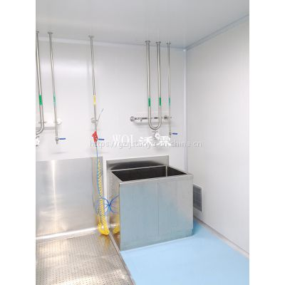 WOL专业承接江西实验室车间 消毒洗消间装修设计