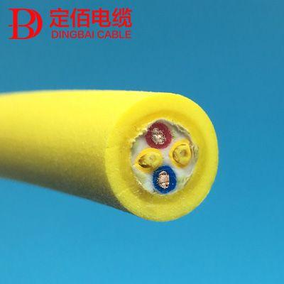 供应定佰光纤复合缆|光纤+电源2*1.5复合缆|水密光纤电缆|伺服光纤电缆