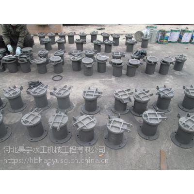 河北省昊宇水工高质量铸铁拍门防止外水倒灌厂家供应