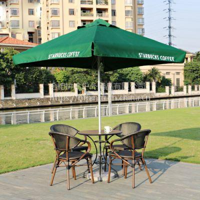 合肥咖啡馆户外桌椅酒吧桌椅室外休闲桌椅藤制家具庭院