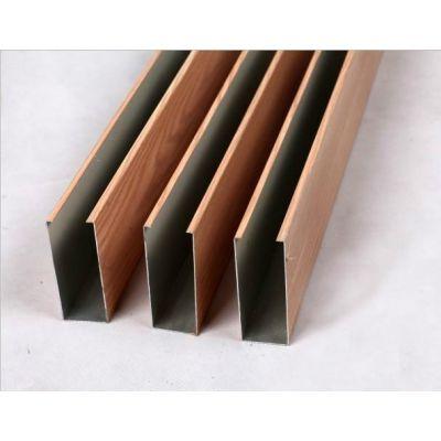 滚涂木纹铝方通的优势在哪?