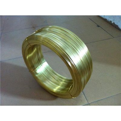 黄铜扁线,H65半硬拉链用黄铜扁线
