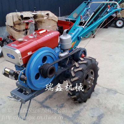 便携式小型微耕机 手扶式犁地机瑞鑫牌 多功能山地打田机