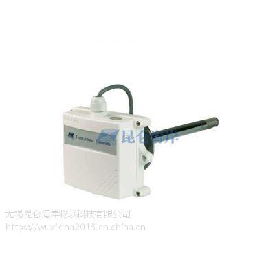 无锡昆仑海岸JWSK-6ACD工业型管道式温湿度变送器传感器进口芯体4-20maRS485
