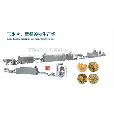 早餐谷物玉米片生产线,设备--厂家供应
