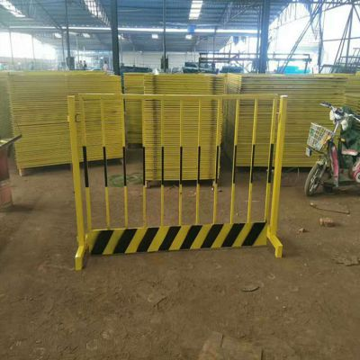 平腿基坑护栏生产@挂钩连接临边围栏@施工防护安全栏杆