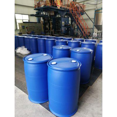 生产销售200L双口径蓝色化工桶塑料桶