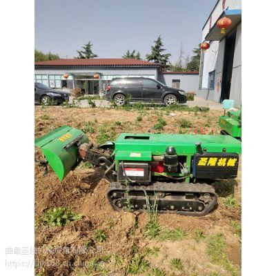 圣隆牌履带式园林耕整机 自走式田园管理机