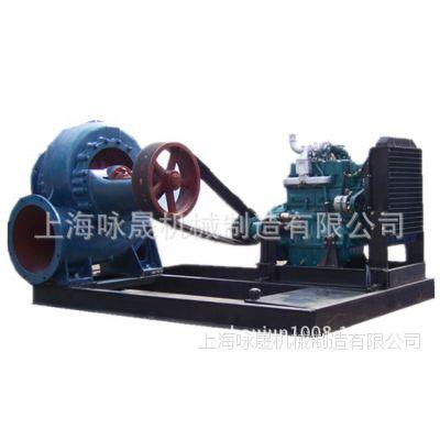 400HW-7柴油机混流泵16寸移动式柴油机混流泵