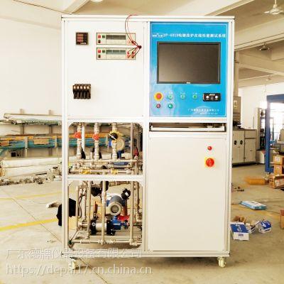 电壁挂炉在线性能测试系统