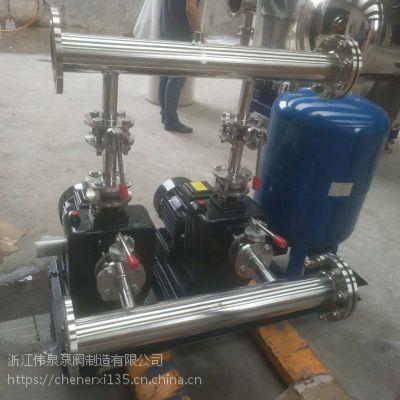 江苏生活用水供水设备WQWG 接不锈钢水箱二次加压恒压变频供水设备