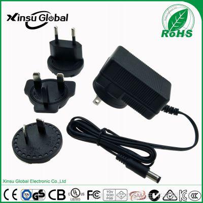 12V1A转换插脚电源 PSE认证 xinsuglobal 5V2A转换头电源适配器