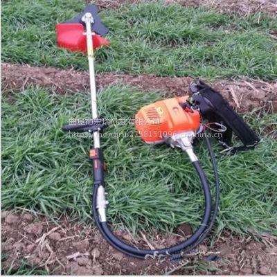 二冲程背负式割草机 宏瑞牌背负式小型收割机除草机