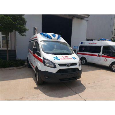全顺救护车 监护型救护车 急救车改装