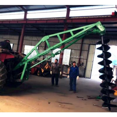 天津市河东区果园植树钻孔机 挖坑机多钱一台