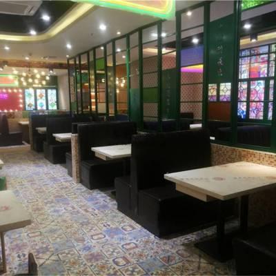 东莞港式茶室餐厅桌子椅子沙发定做