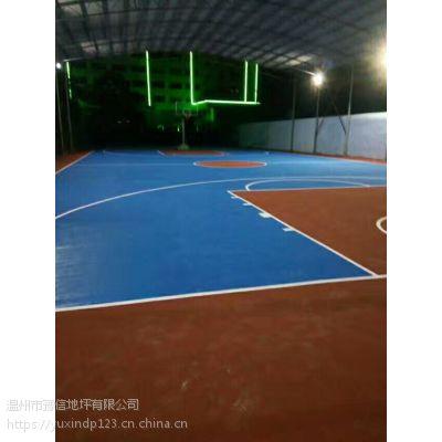 温州网球场地坪 豫信地坪施工快捷价格低廉 多种颜色可供选择