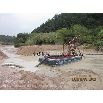 的中非采沙船-dw50吸沙船的结构组成及我公司定制抽沙船的优势