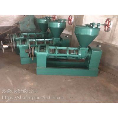 160大型螺旋榨油机 双象榨油机