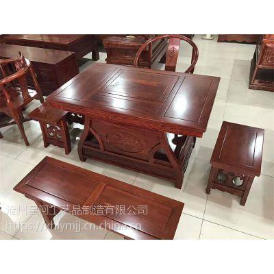 泊头哪里有卖古典中式老榆木茶台的,榆木古典中式家具泊头批发厂家