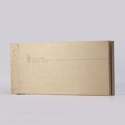 江恒包装盒厂家 直销高档化妆品包装盒 充皮纸包木盒 免费设计