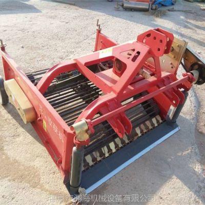 拖拉机带动薯类收获机价格 地蛋多功能打秧机 小型手扶车带土豆收获机