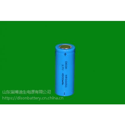 供应DISON迪生3.7V 26650型4500mAh锂电池