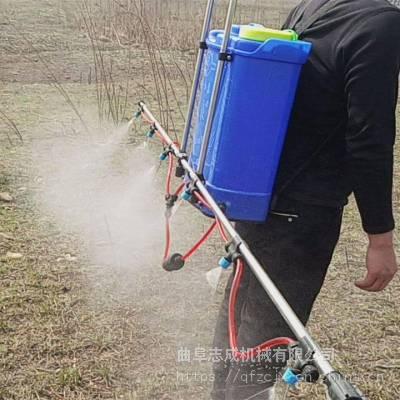 多功能背负式电动打药机 支架式农田喷药机 小麦除虫打药机价格