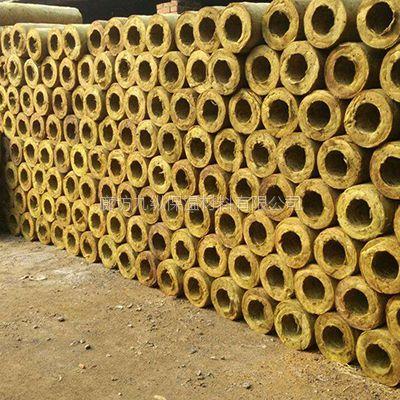九纵岩棉管 耐震防火 绿色保温