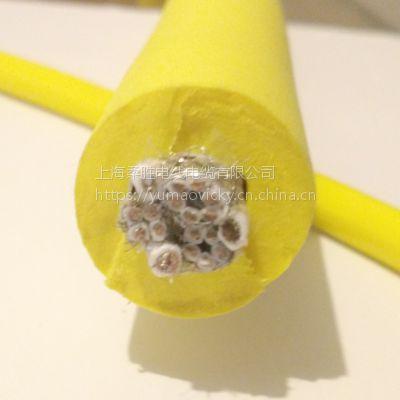 多芯屏蔽水下组合零浮力电缆 防海水抗拉18芯ROV漂浮缆 定制线缆