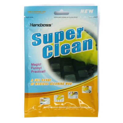 万能清洁泥 翰柏尔清洗透明软胶 笔记本电脑键盘胶 厂家定制万能清洁泥