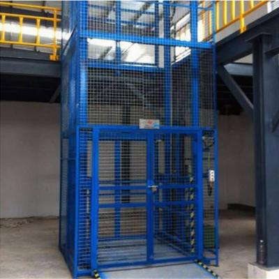 供应青岛工厂升降货梯 5吨室内链条式升降平台 大吨位电动升降台