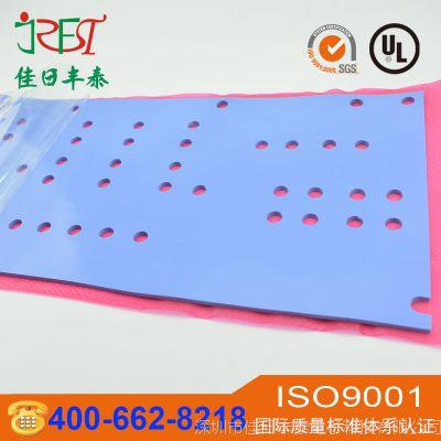 电源模块导热硅胶片 cpu显卡硅胶散热片 led高导热硅胶垫片异型