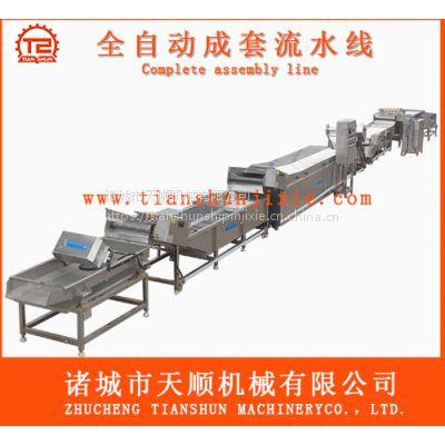 天顺知名企业生产瓶装甜酸杏鲍菇成套流水线机械设备(SUS304制造)